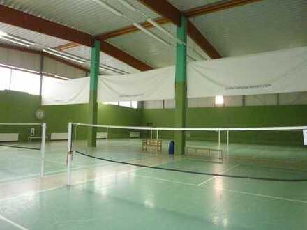 RASCH Industrie: Vermietung einer vielfach nutzbaren Sporthalle in E-Kray-Leithe