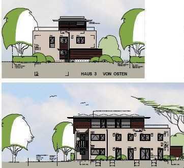 Modernes Wohnen in MM-berg Neubau (KfW55) 4-5 Zim.-Penthouse-Whn. OG/DG, 30qm Dach-Terr. (süden)