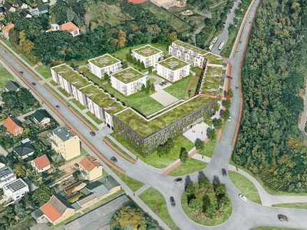 Grün und zentral wohnen in Teltow - Familienwohnung im Quartier am Kirchpark
