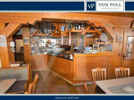 Gut eingeführtes Restaurant mit Hotelbetrieb