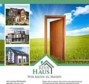 Einladung zur Baustellenbesichtigung /// Einladung zum Tag der offenen Tür bei Riva Haus!