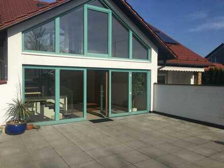 Außergewöhnliche Wohnung mit großer Terrasse in Wegfurt