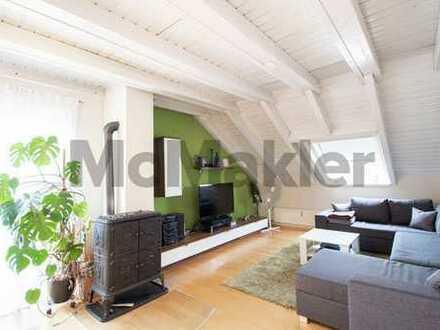 Stilvolle 3-Zi.-ETW im Speckgürtel München´s mit Südbalkon und Garage in grüner Lage