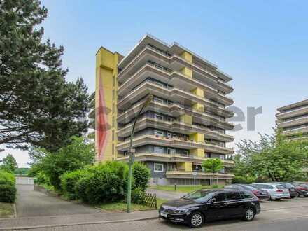 Gut vermietet: Gepflegte 2,5-Zi.-ETW mit großem Balkon und Garage in Ortsrandlage von Herne
