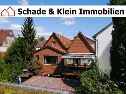 kleines Einfamilienhaus mit 2 Garagen in Wendlingen