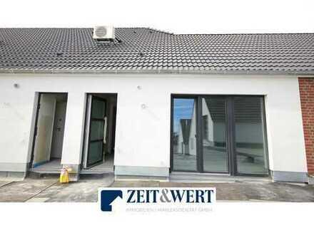 Neubau! Kerpen-Brüggen! Sonnenhelle 3-Zi-Mietwohnung mit Dachterrasse und Stellplatz! (LR3933)