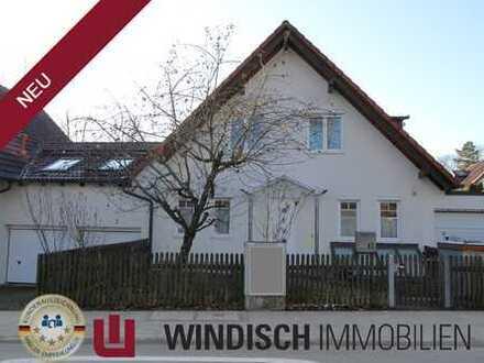 WINDISCH Immobilien - Moderne Doppelhaushälfte in Gröbenzell-Nord zu vermieten