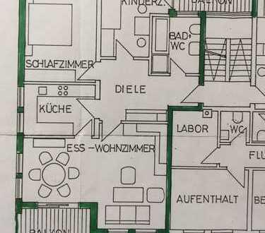 Schöne und Gepflegte 3,5-Zi. Wohnung mit Balkon in zentraler Lage in Mutlangen