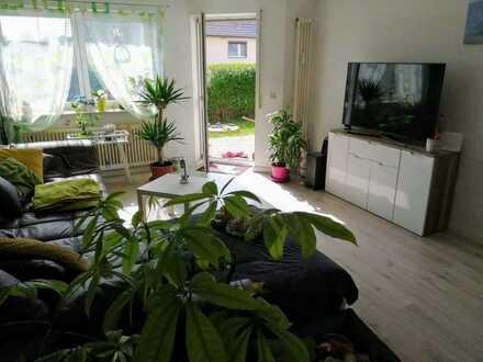 Gepflegte 2-Zimmer-Erdgeschosswohnung mit Garten in Groß-Ziethen