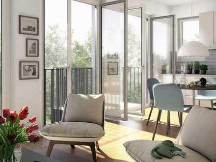 Ihr Wohntraum! Lichtdurchflutete 2-Zimmer-Wohnung mit Balkon in Zepernick