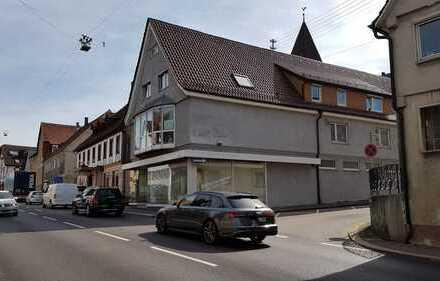 Geschäfts-Mietraum 200 m² - zentral in Kuchen - sehr guter Zustand - von Privat