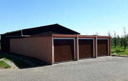 Eine Garage in Jork-Gehrden zu vermieten !