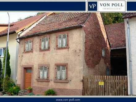 Schönes Grundstück mit abrissreifem Haus in ruhiger Lage von Waldrohrbach