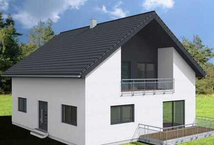 Haus mit unverbaubarem Fernblick, ideal gelegen - schönes Eckgrundstück