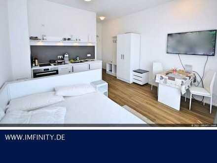 Voll ausgestattetes 1-Zimmer Appartment ++ Exzellente Lage am Europaviertel