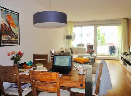 Gepflegte 3-Zimmer-Wohnung mit Balkon und EBK in Sendling-Westpark, München