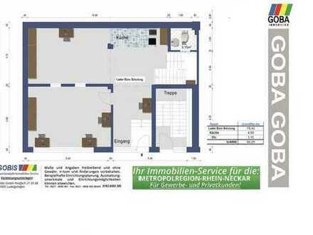 Lu City 2018 Laden/Büro/Praxisräume/SCHULUNG 198 m² erweiterbar/nahe Ludwigsplatz/RathausCenter