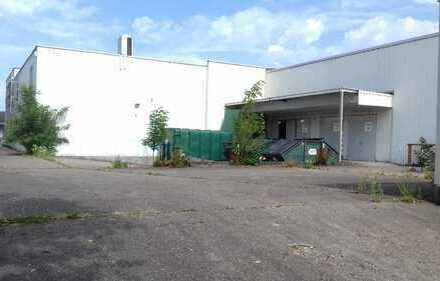Gewerbegrundstück mit 2 Produktions- und Lagerhallen