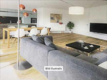 Erstbezug: stilvolle 4-Zimmer-Wohnung mit Balkon