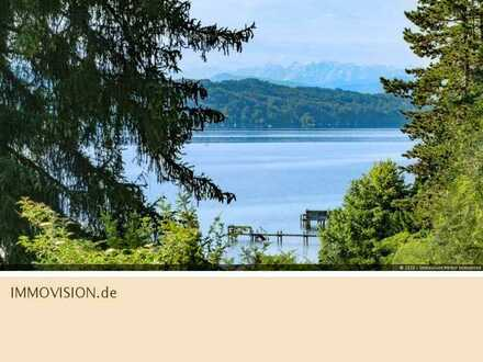 Starnberg: Architektenvilla in der 1. Seereihe