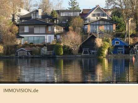 Wörthsee: Moderne Einfamilienhaus-Villa mit Seeblick