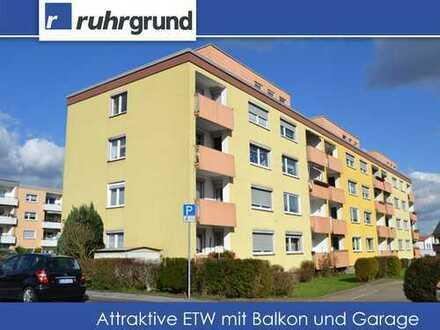 attraktive Eigentumswohnung mit Balkon und Garage in Westerfilde!