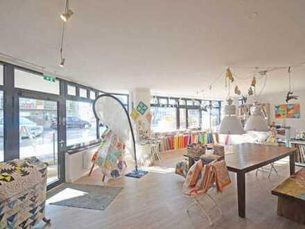 Modernes Ladenlokal in verkehrsgünstiger Ecklage