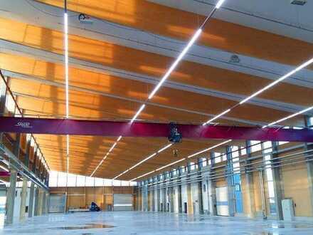 """BAUMÜLLER & CO."" - ca. 2.000 m² Hallenfläche - Kranbahn + ebenerdige Andienung - Top Anbindung!"