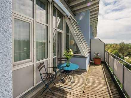 Dachterrasse und Blick ins Grüne - Lichterfülltes Dachgeschoss - Trudering-Riem