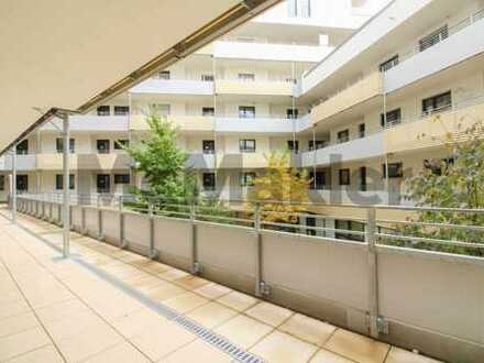 Erstbezug! Barrierefreie Seniorenwohnung mit Balkon - Pflegedienst im Haus