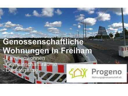 Genossenschaftliches Wohnen | 4-Zimmer-Wohnung mit Balkon in München Freiham