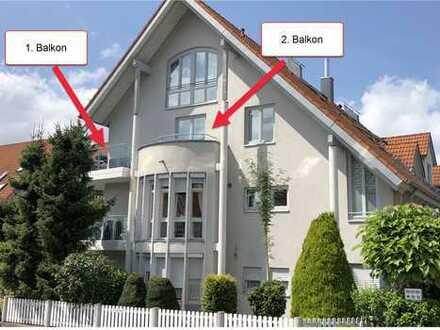 Moderne 3,5 Zi. DG-Whg. auf zwei Ebenen mit Einfamilienhaus-Charakter!