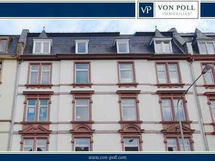 Helle, freundliche Dachgeschosswohnung in der Nähe des Günthersburgparks