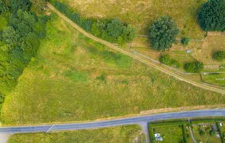 Großes Baugrundstück - ohne direkte Nachbarn