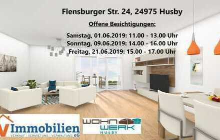 Neubau mit Fahrstuhl: Schöne 2-Zimmer-Wohnung im 1. OG (Whg. 6)