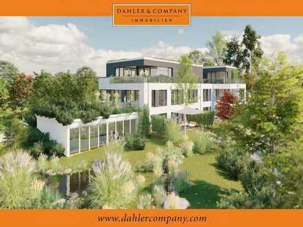 Neubau: Exklusives Penthouse mit direktem Rheinblick in Urdenbach