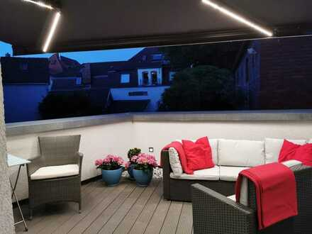 Wunderschöne, vollständig möblierte 2-Zimmer-Wohnung mit Balkon in Ludwigsburg