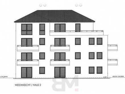 3-Zimmerwohnung mit 87,57 qm im II. OG mit großem Balkon