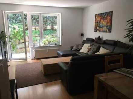 Freundliche 3,5-Zimmer-EG-Wohnung mit kleiner Terrasse