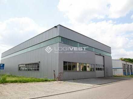 Lager-und Produktionshalle mit viel Freifläche und Erweiterungspotential