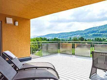 Traumhaftes Penthouse mit atemberaubender Aussicht über das Rheintal! Ihre Oase des Glücks!