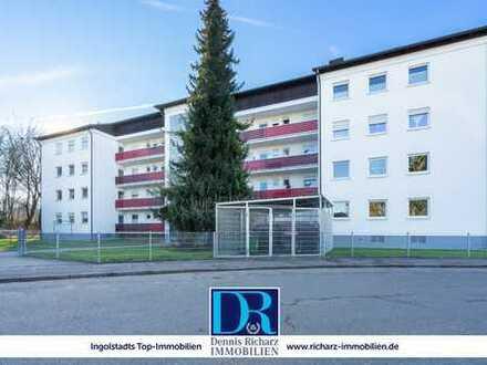 *** Reserviert *** Provisionsfreie 3-Zi-Hochpaterre mit Balkon & Garage in ruhiger 1a Lage Haunwöhr!