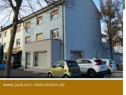 Mannheim-Gartenstadt - In attraktiver Lage - 2-FH mit Gewerbeeinheit