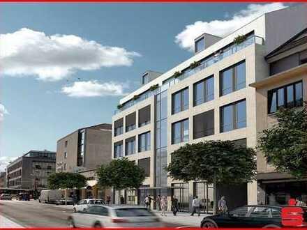 Neubau 3,5-Zimmer Penthouse Wohnung im Zentrum von Darmstadt zur Miete
