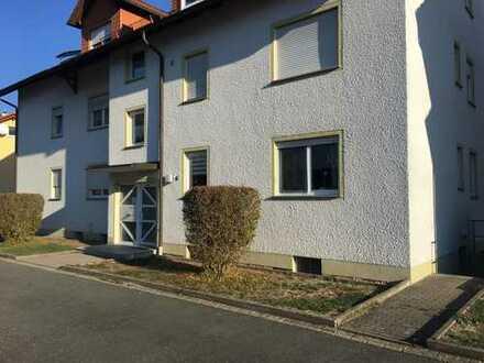 Gepflegte 3-Zimmer-Wohnung mit Balkon in Rentweinsdorf