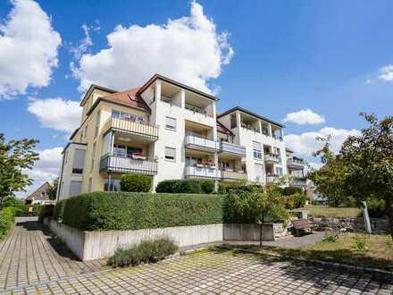 Zur Kapitalanlage: Gepflegte 2-Zimmer-Wohnung mit Balkon in Leipzig-Engelsdorf