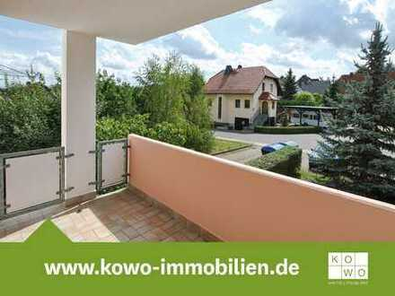Ruhige gelegene Singlewohnung mit Balkonblick ins Grüne!
