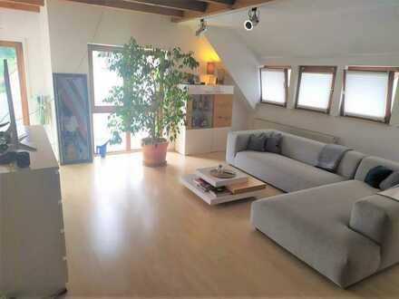 S-Rohr (beste Wohnlage), helle DG-Wohnung mit Galerie, Süd-Balkon, Einbauküche,