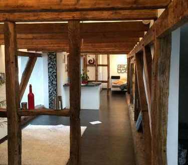 Wunderschöne, offen geschnittene Wohnung mit Sichtfachwerk!