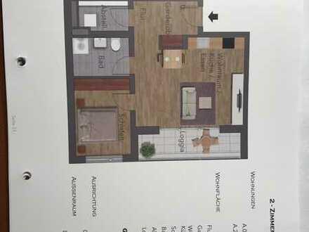 Erstbezug: stilvolle 2-Zimmer-Wohnung mit Balkon in Langen
